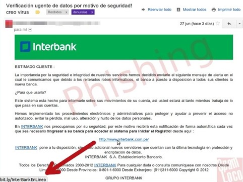 Phishing-InterBank